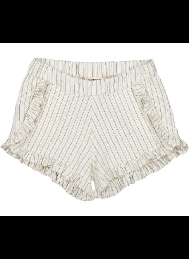 Pytte white sage stripes short
