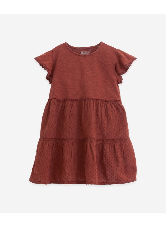 Short sleeved dress organic - Farm