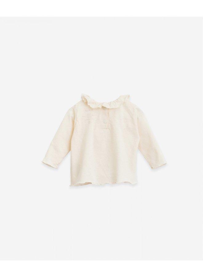 T-shirt with collar - Dandelion