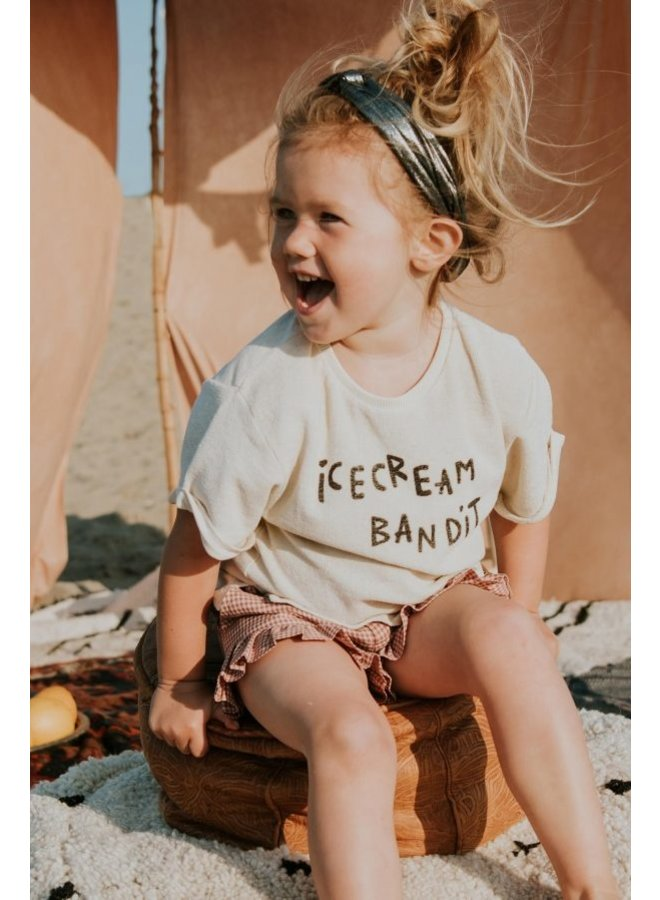 Sweat t-shirt terry ice cream bandit