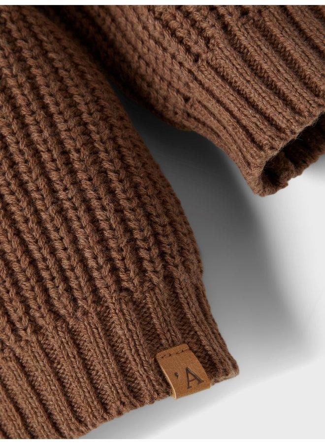 Knit cardigan partridge