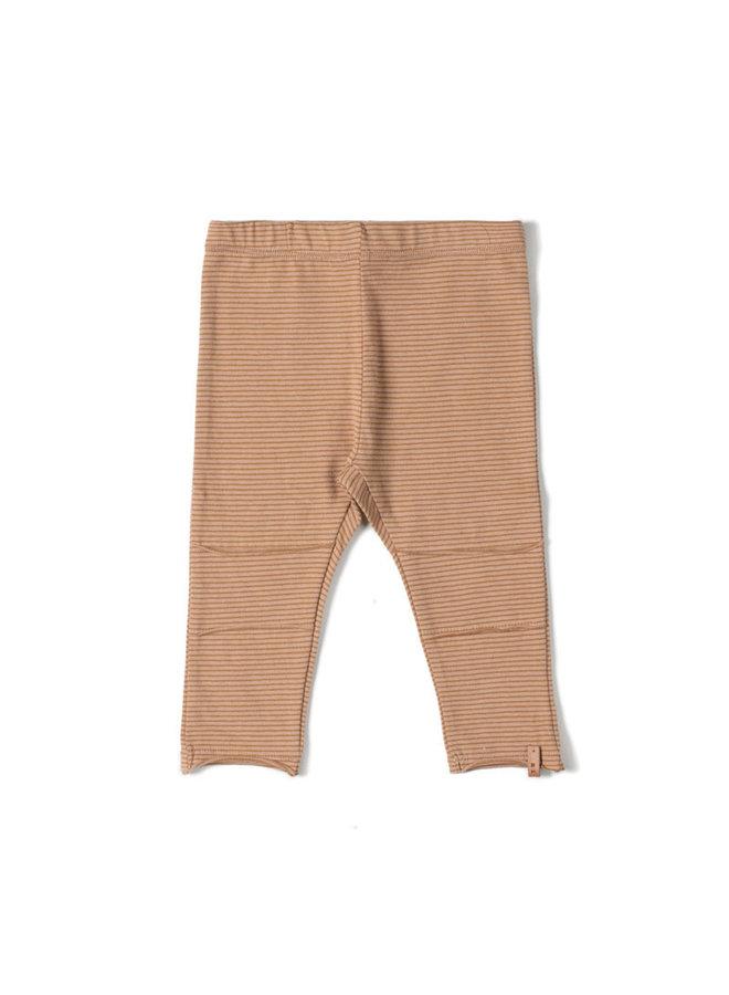 Tight legging nude stripe
