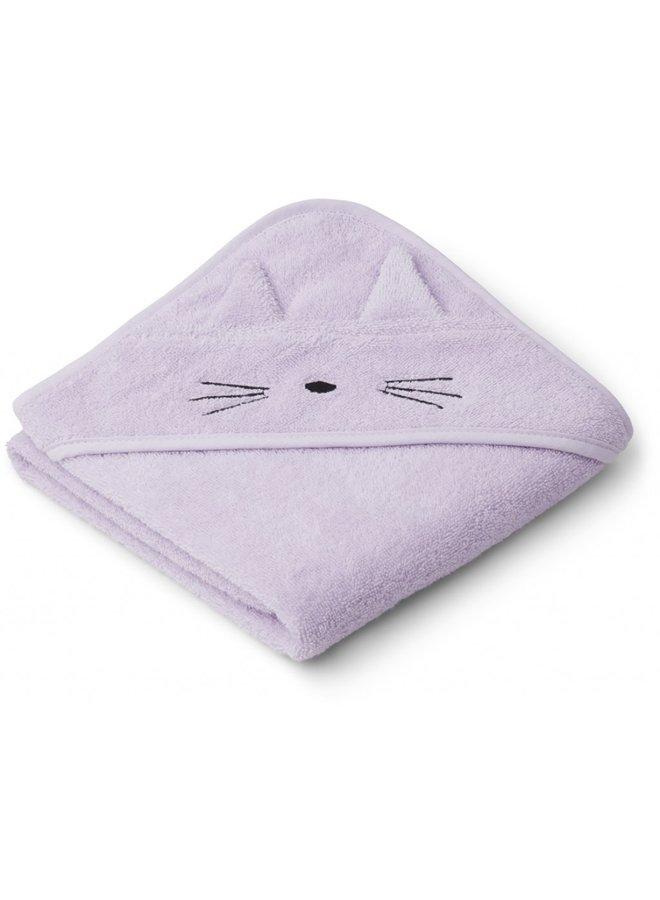 Badcape lavendel cat