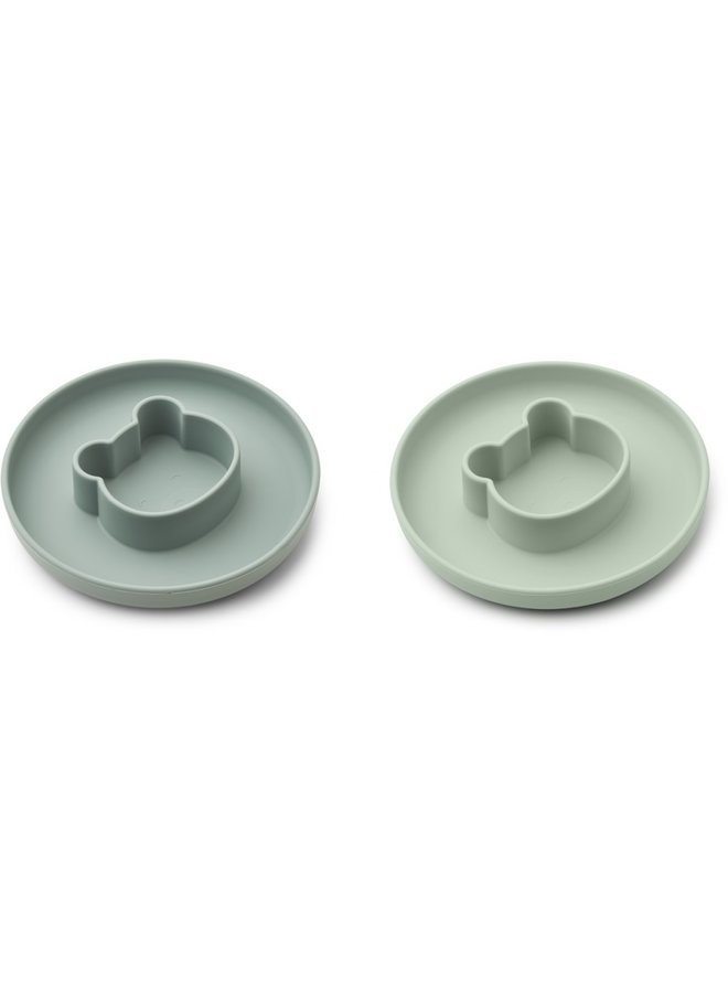 two-in-one-plate 2 pack mint