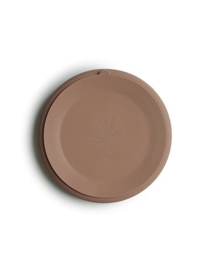 SILICONE plate met zuignap - Natural