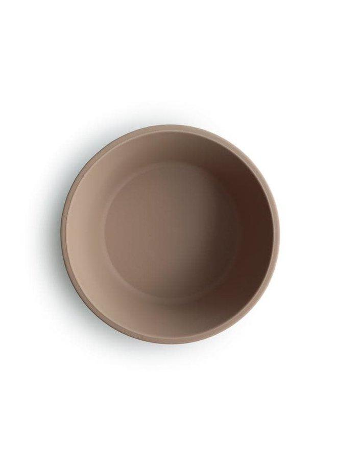 SILICONE bowl met zuignap - Natural