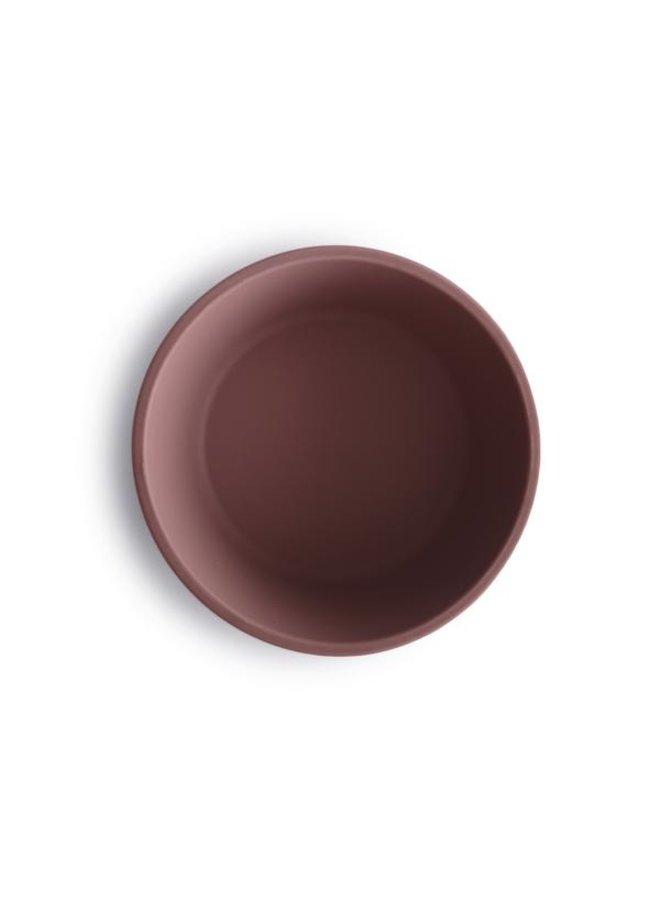 SILICONE bowl met zuignap - Cloudy Mauve