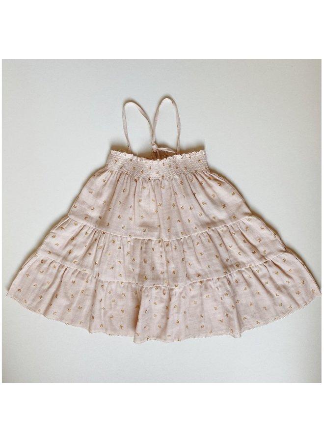 Zalie smock strap dress - Mandarin