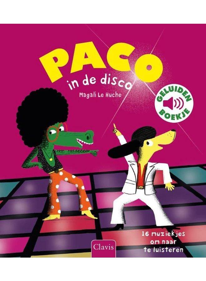 Geluidenboekje - Paco in de disco
