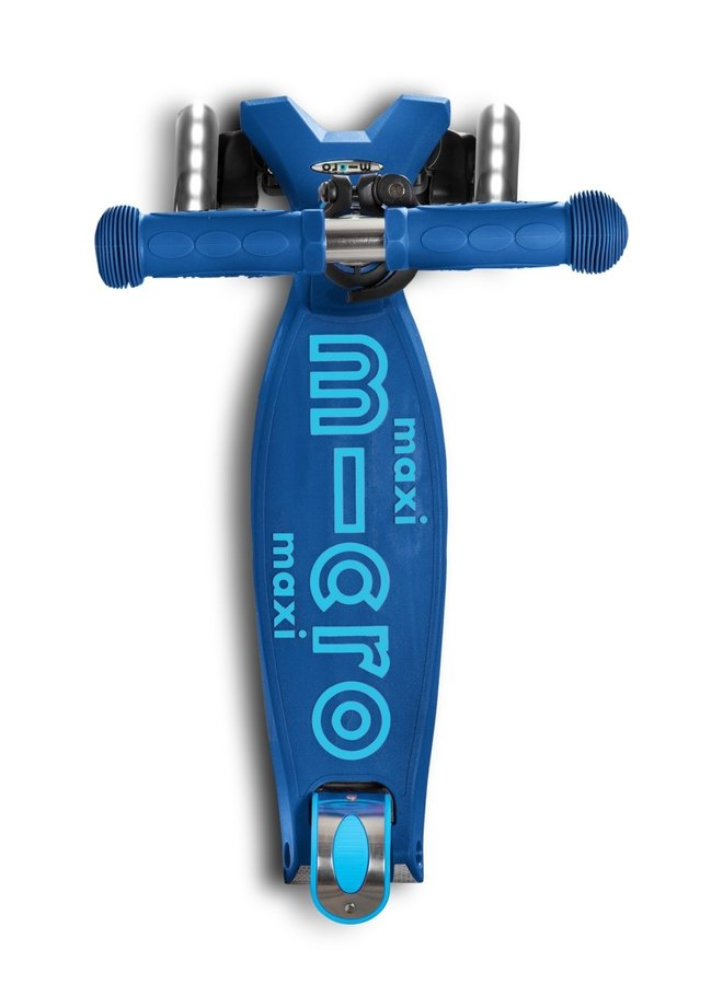 Maxi micro step Deluxe LED - Marine blauw