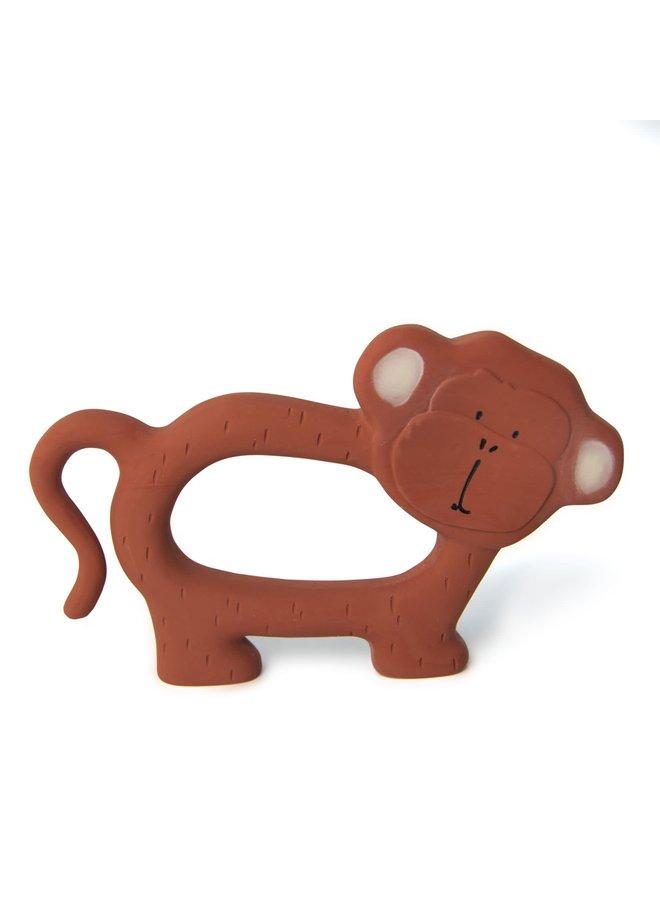 Natuurlijk rubber grijpspeeltje - Mr. Monkey