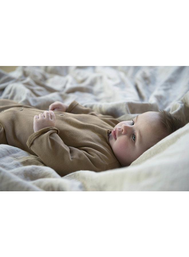 Born onesie - Toffee