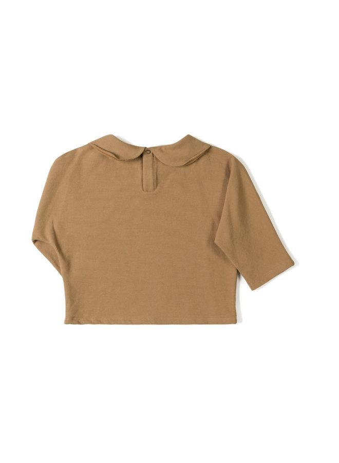 Collar longsleeve - Toffee