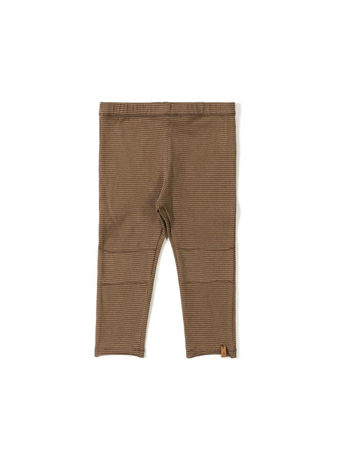Tight legging - Stripe toffee