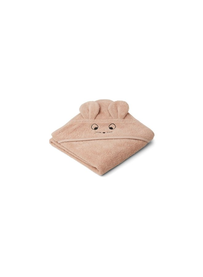 Albert hooded towel - Mouse pale tuscany