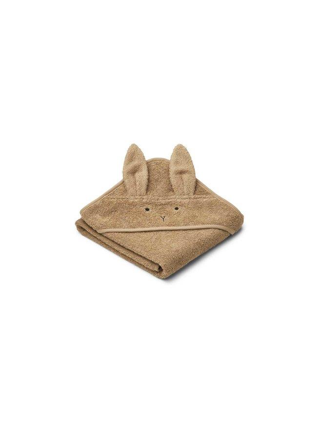 Albert hooded towel - Rabbit oat