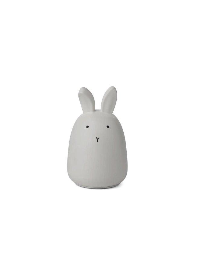 Winston night light - Rabbit dumbo grey