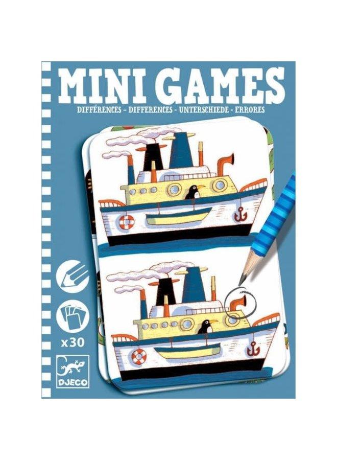 Mini game - Zoek de verschillen