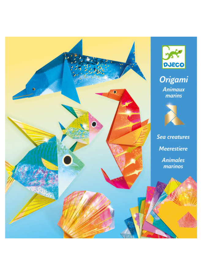 Knutselset origami - Sea creatures
