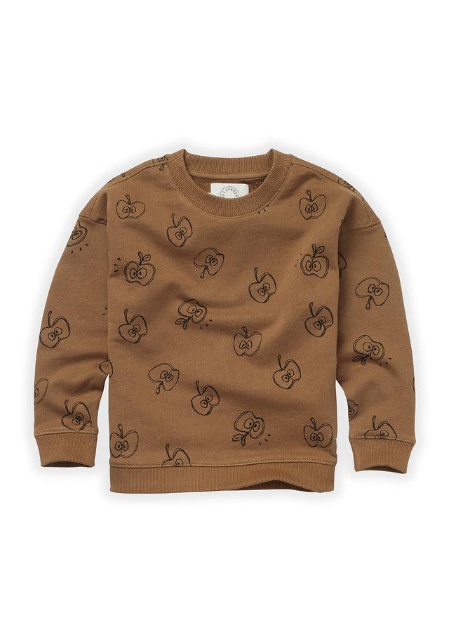 Copy of Sweatshirt - Badger print - Auburn