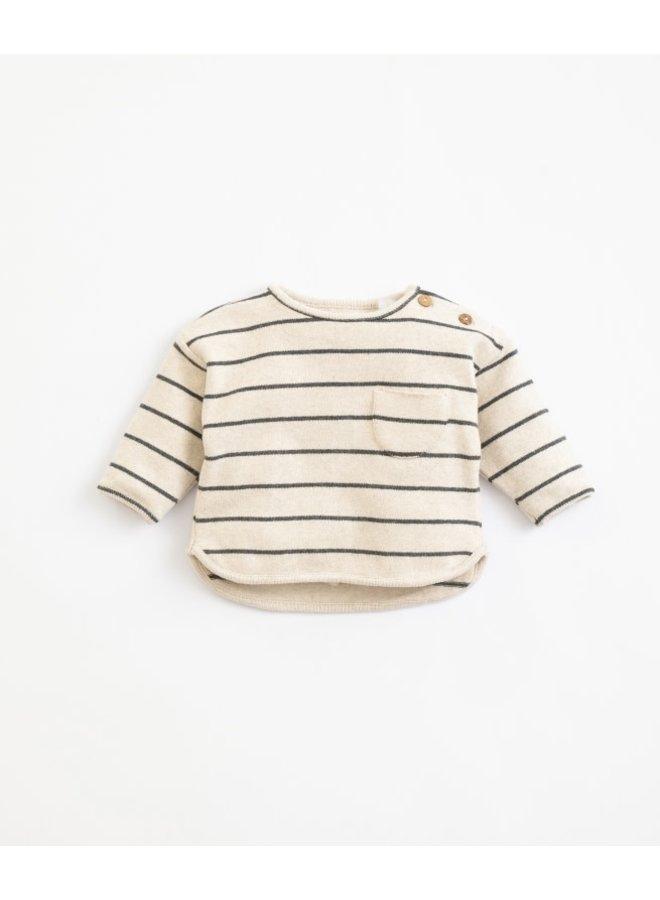 Striped jersey sweater - Miro