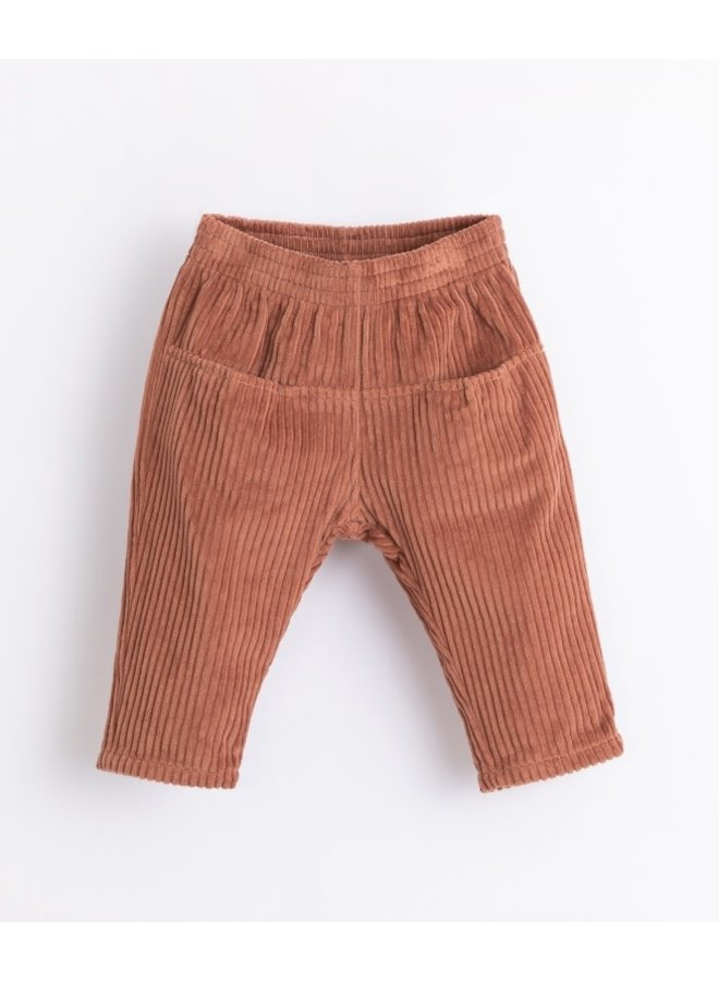 Corduroy trousers baby - Sanguine