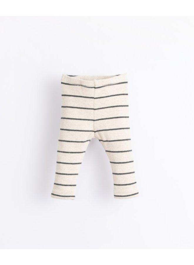Striped jersey legging - Miro