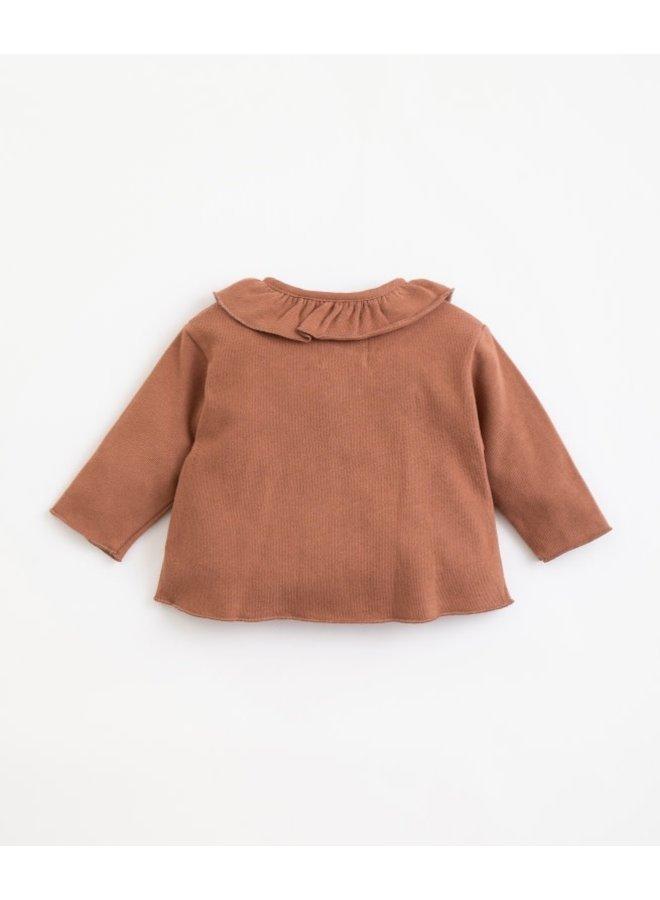 Jersey cardigan baby - Sanguine