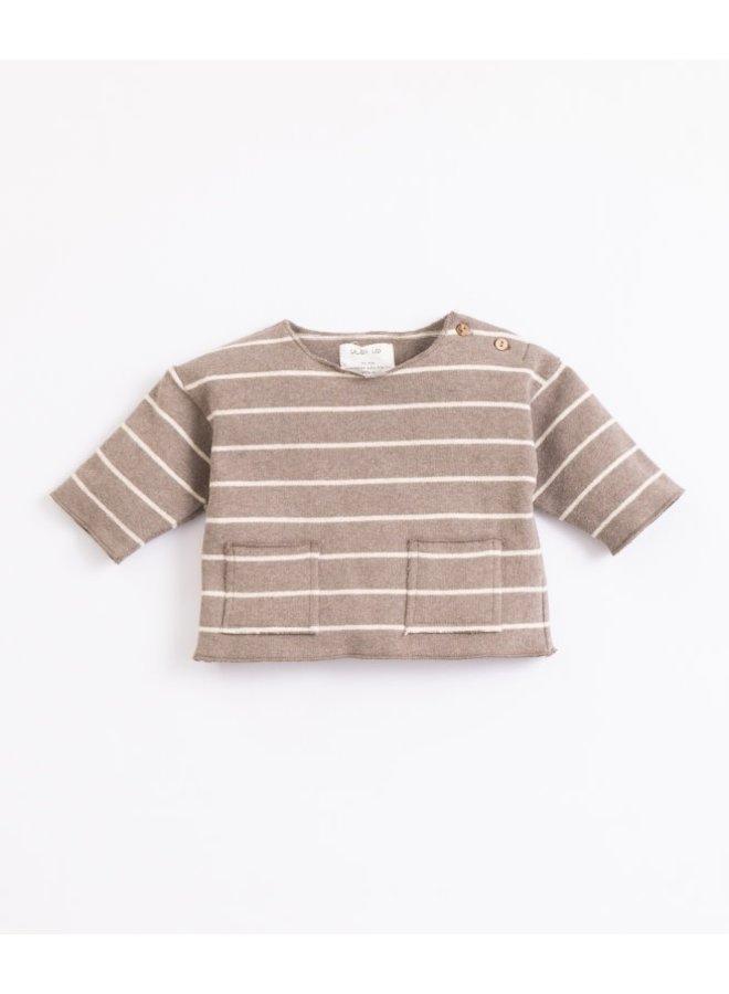 Striped jersey sweater - Frame
