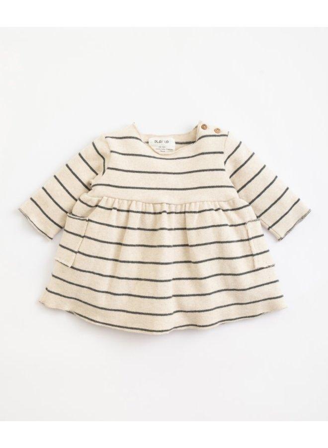 Striped jersey dress - Miro