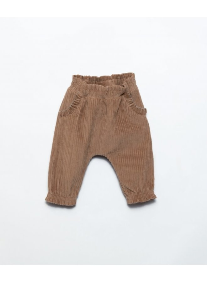 Corduroy trousers - Paper