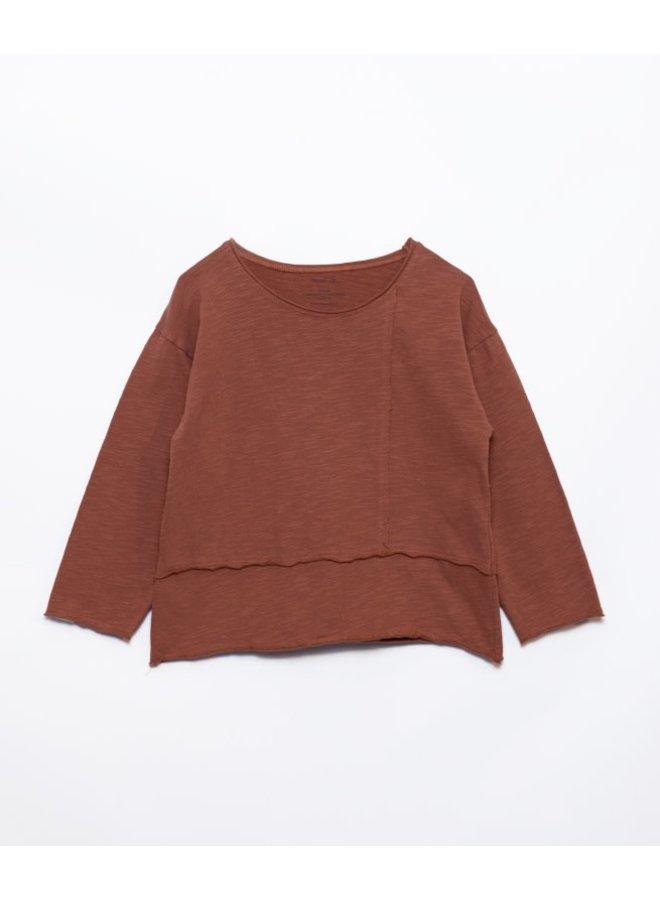 Flamé jersey T-shirt - Sanguine