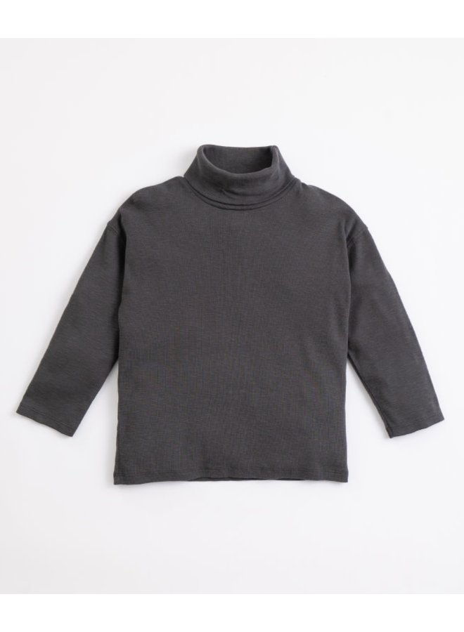 Collar flamé rib sweater - Frame