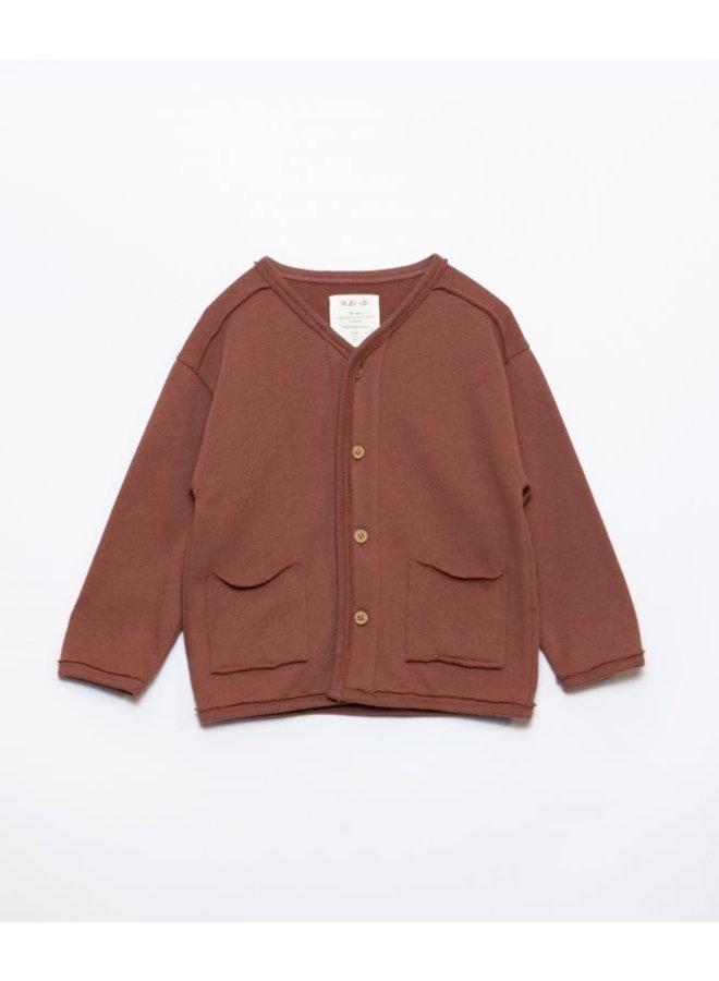 Jersey cardigan - Sanguine