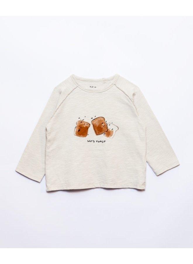 Flamé jersey T-shirt - Let's toast