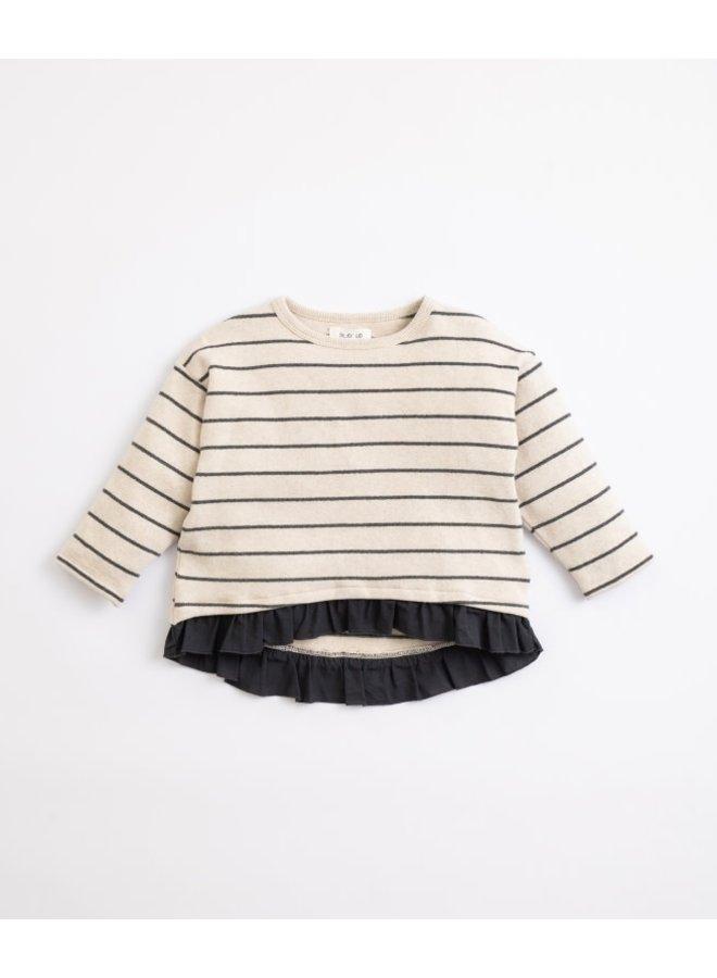 Striped Jersey sweater girl - Miro