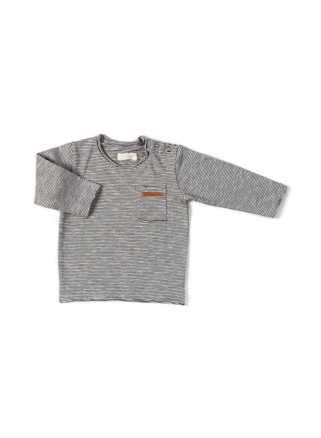 Longsleeve stripe - Black/white