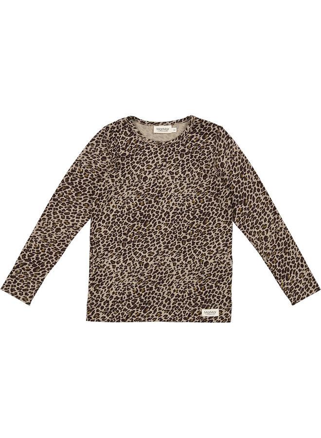 Modal longsleeve sandstorm leopard