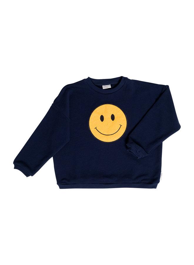 Winkey whale sweatshirt