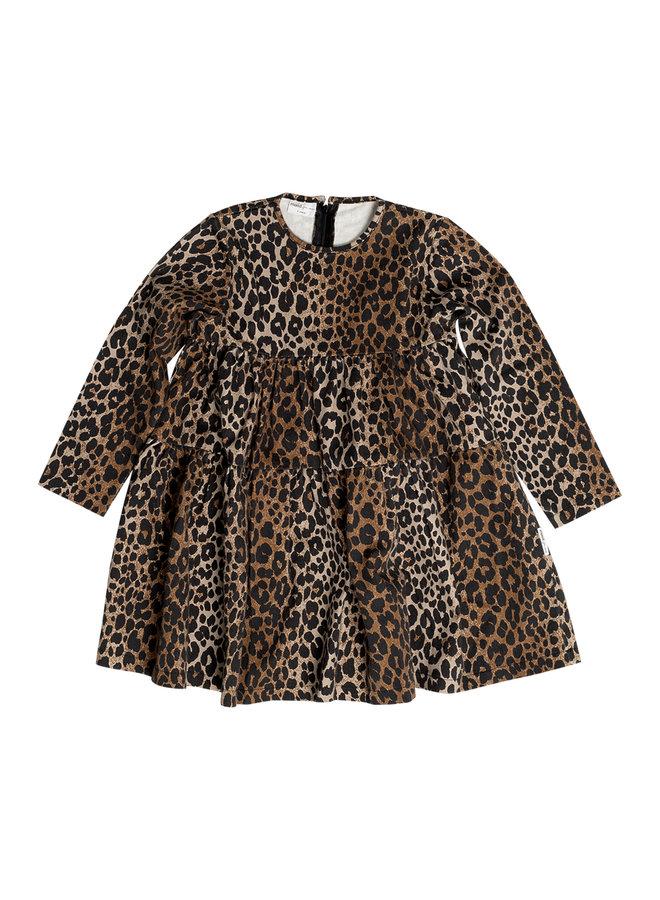 Luxurious leopard dress