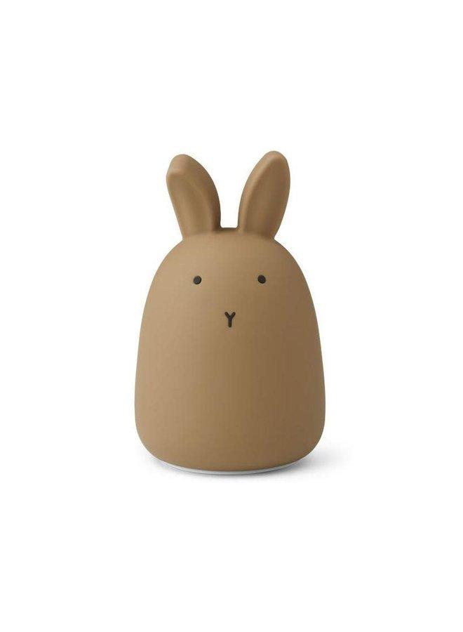Winston night light rabbit - oat