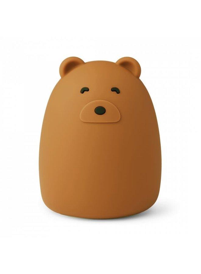 Winston night light Mr bear - Golden Caramel