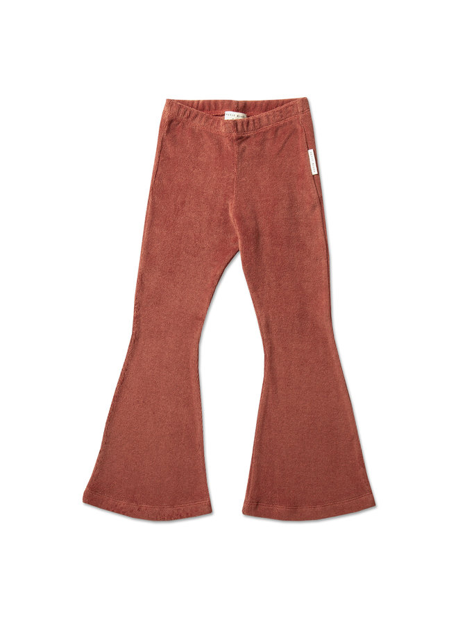 Bowie flared pants - Marsala