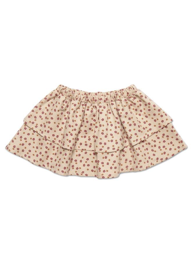 Mini layer skirt - Mini ditsy print