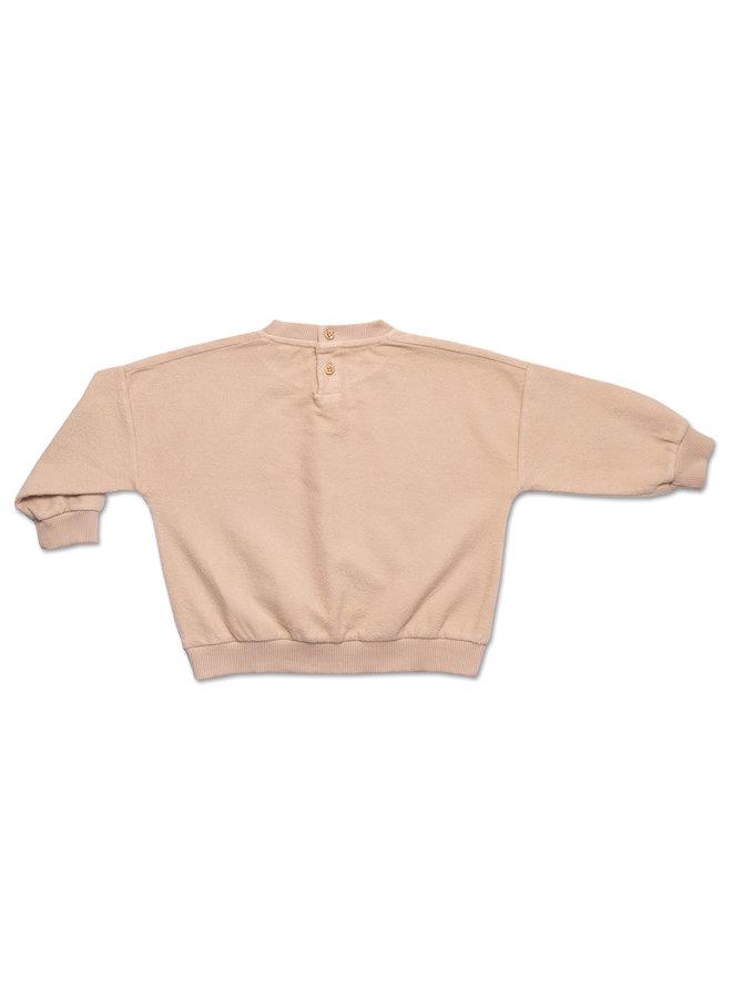 Sweater soft teddie - Mist green