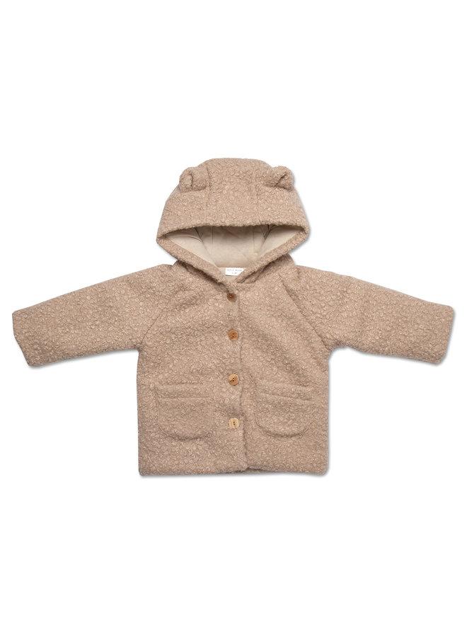 Teddy jacket - Sand