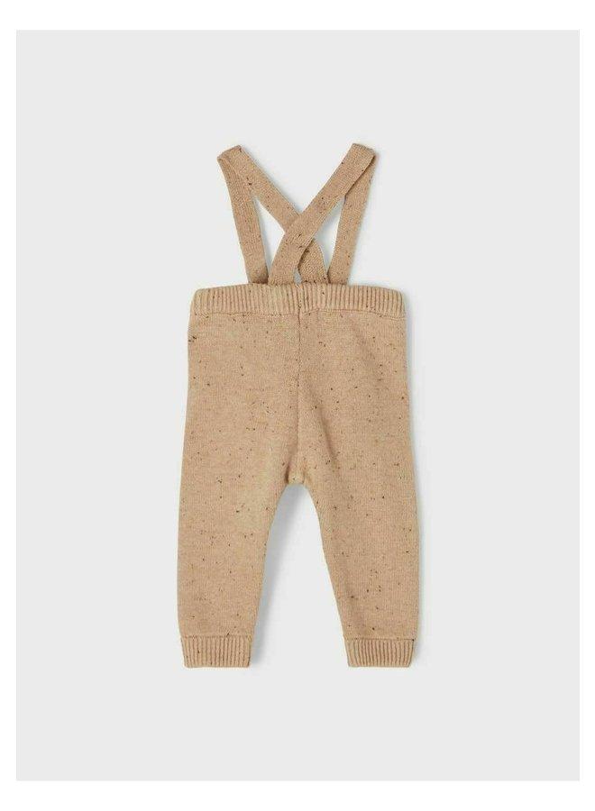 Knit pants - Tobacco brown
