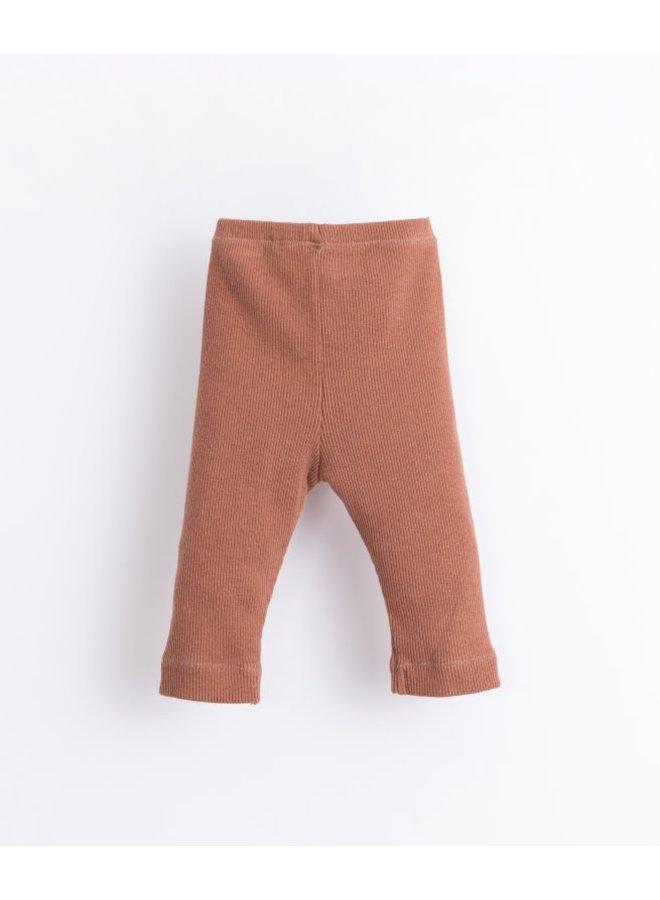 Rib legging - Sanguine