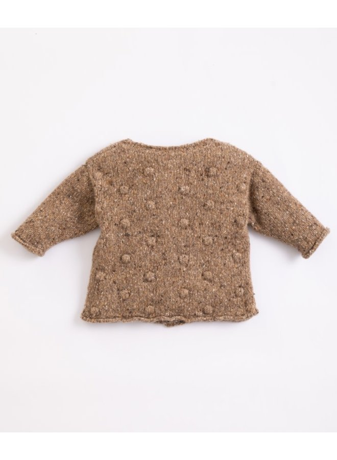 Knitted cardigan - Paper