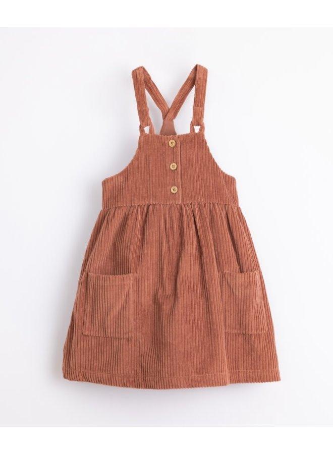 Corduroy dress - Sanguine